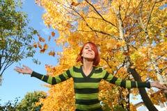 Autumn fun Stock Photo