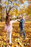 Autumn fun Royalty Free Stock Photography
