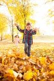 Autumn fun Stock Image