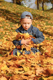 Autumn games Royalty Free Stock Images