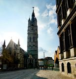Autumn in Gand stock image
