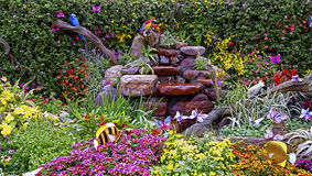 Autumn garden Stock Photography