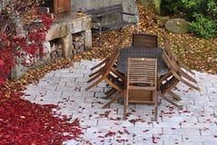 autumn garden royalty free stock photos autumn furniture