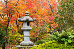 Autumn garden at tenryu-ji temple, Arashiyama Stock Image