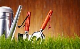 Autumn garden tools Stock Photos