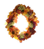 Autumn garland Stock Images