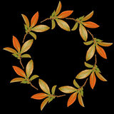 Autumn Garland Stock Photography