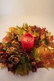 Autumn garland Stock Image