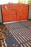 Autumn gate Stock Photography