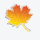 Autumn  geometric  background Stock Image