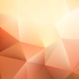 Autumn geometric shapes triangle. plus EPS10 Royalty Free Stock Images