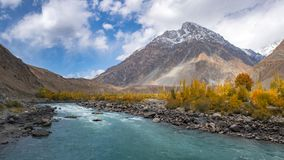 Ghizer Valley. Northern Area Pakistan royalty free stock photos