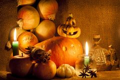 Autumn gifts. Royalty Free Stock Images