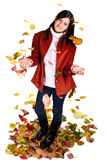 Autumn girl Stock Photo