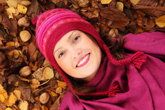 Autumn girl! Royalty Free Stock Images
