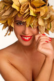 Autumn girl. Stock Image