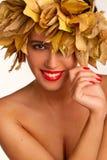Autumn girl. Stock Image