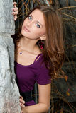 Autumn girl. Royalty Free Stock Photography