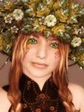 Autumn Girl Photographie stock