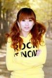Autumn girl Royalty Free Stock Photos