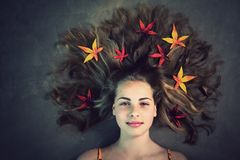 Autumn Girl photos libres de droits