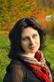 Autumn girl portrait Stock Photography