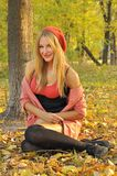Autumn girl portrait Royalty Free Stock Images