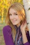 Autumn girl portrait Royalty Free Stock Image