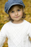 Autumn girl portrait Stock Images