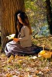 Autumn girl Royalty Free Stock Photography
