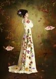 Autumn girl Royalty Free Stock Photo