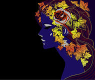 Free Autumn Girl2 Royalty Free Stock Photos - 25910358