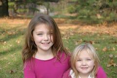 Autumn Girls Stock Photos