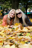 Autumn Girls Royalty Free Stock Image