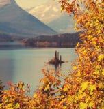 Autumn in Glacier. NP, Montana, USA Stock Image