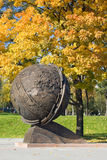 Autumn Globe Stock Photography