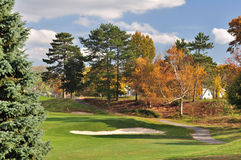 Autumn Golf Stock Photography