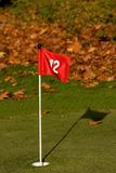 Autumn golf Royalty Free Stock Images