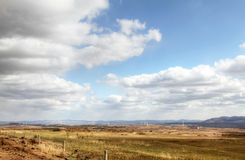 Autumn grassland. Chinese grasslands of inner mongolia in the fall Royalty Free Stock Image