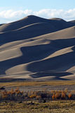 Autumn at Great Sand Dunes National Park Royalty Free Stock Photo
