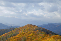 Autumn, Great Smoky Mtns NP. Autumn, Great Smoky Mountains National Park royalty free stock image
