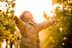 Autumn is great time Royalty Free Stock Photography