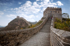 Autumn Great Wall of China Royalty Free Stock Photography