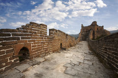 Autumn Great Wall of China Royalty Free Stock Images