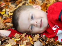 Autumn Grin Royalty Free Stock Images