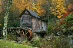 Autumn at the Grist Mill Royalty Free Stock Image