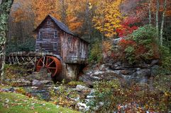 Autumn at the Grist Mill Royalty Free Stock Photo