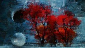 Autumn Grunge stock abbildung