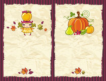 Autumn grunge backgrounds Royalty Free Stock Images