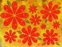 Autumn Grunge Illustration Imagen de archivo libre de regalías